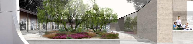 Patio interior. Image Cortesía de Matías Zegers Arquitectos