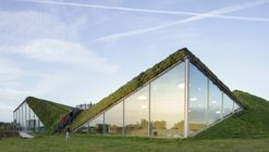Isla museo Biesbosch / Studio Marco Vermeulen