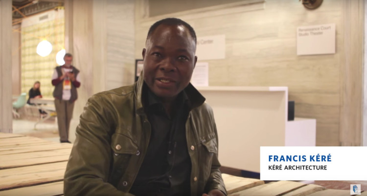 AD Interviews: Francis Kéré / Chicago Architecture Biennial