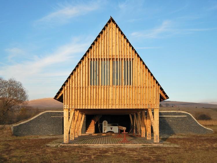 Reception Hut / BLIPSZ + Atelier F.K.M., © István Benedek