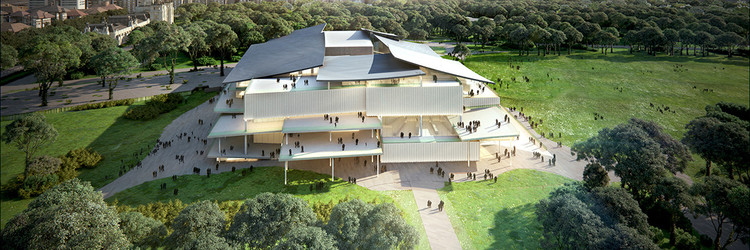 SANAA Selected to Design Hungary's New National Gallery – Ludwig Museum , © SANAA