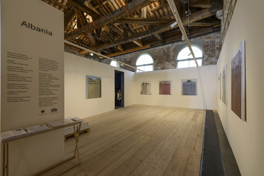 Albania Pavilion at the 2014 Venice Biennale. Image © Andrea Avezzù, Courtesy of la Biennale di Venezia
