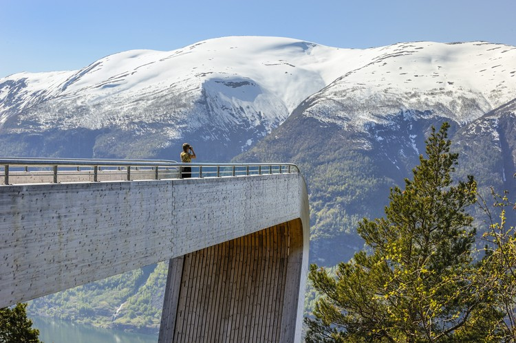 See 2015's Best Public Toilets From Around the World, Stegastein Lookout. Image via DesignCurial