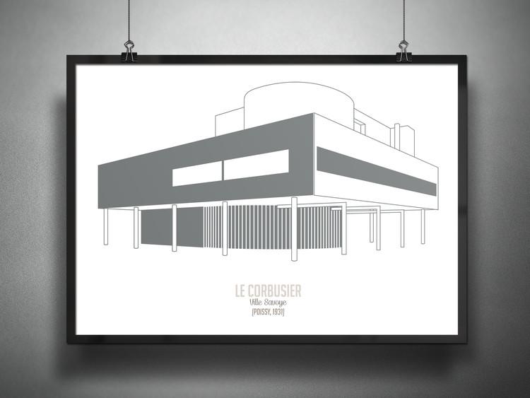 Villa Savoye / Le Corbusier, 1931. Imagen © Francesco Ravasio
