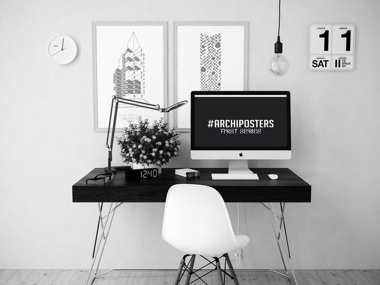 Archiposters: 12 ilustraciones minimalistas de arquitectura contemporánea, © Francesco Ravasio