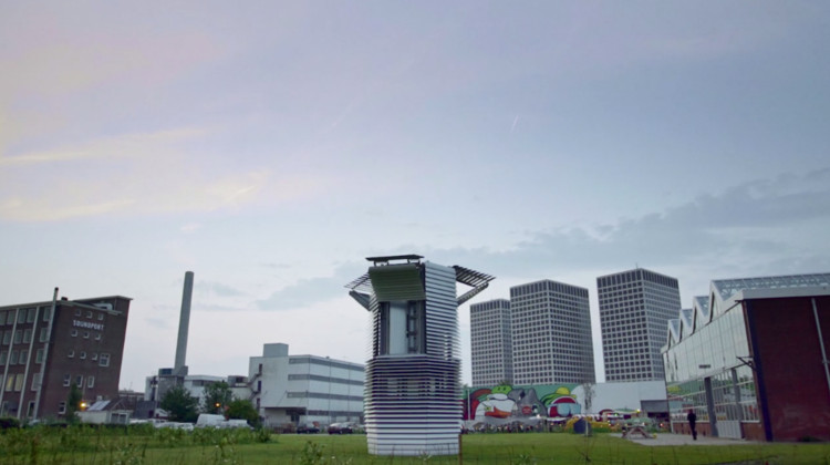 Smog Free Tower en Rotterdam. ImageImagen capturada del video