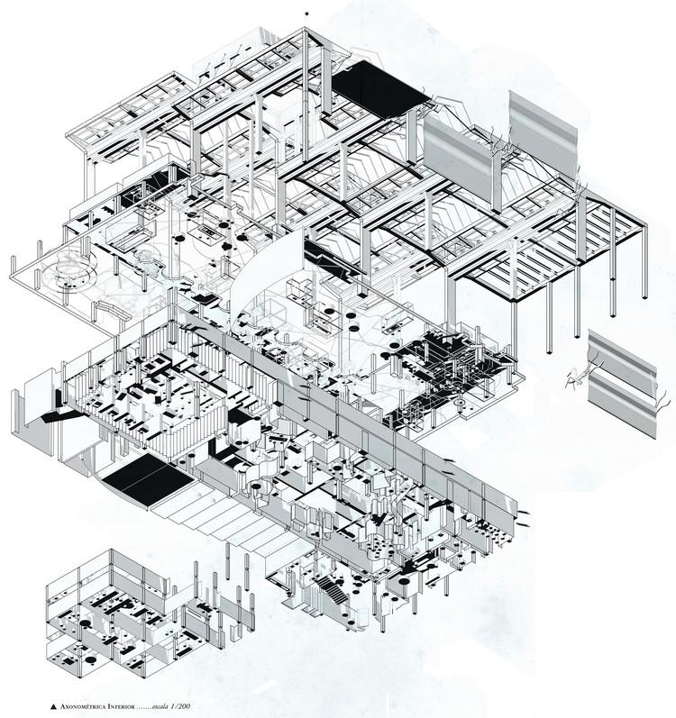 La fábrica cultural. Image © COAM