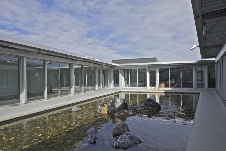 Centro de Investigación Arqueológico Archeodunum  / Christophe Hutin architecture, © Philippe Ruault