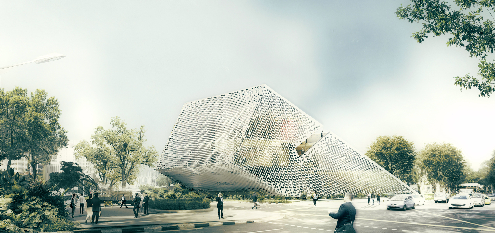 New Wave Architecture Designs Sustainable Office Building
