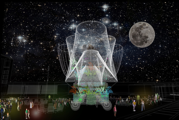 COSMO - 2015 winner of MoMA PS1's YAP. Image © Office for Political Innovation
