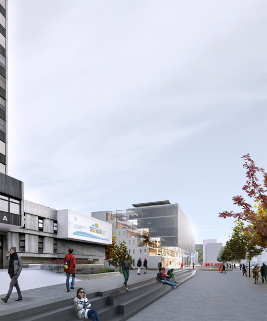 Architects for Urbanity Win Competition for Varna Regional Library, © Architects for Urbanity