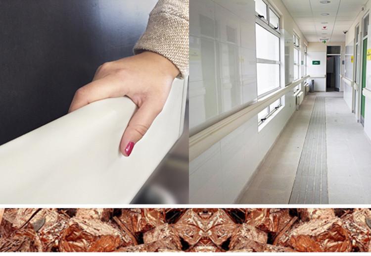 Materiales: Aditivos de Cobre para protección anti-microbiana, Cortesía de Sysprotec