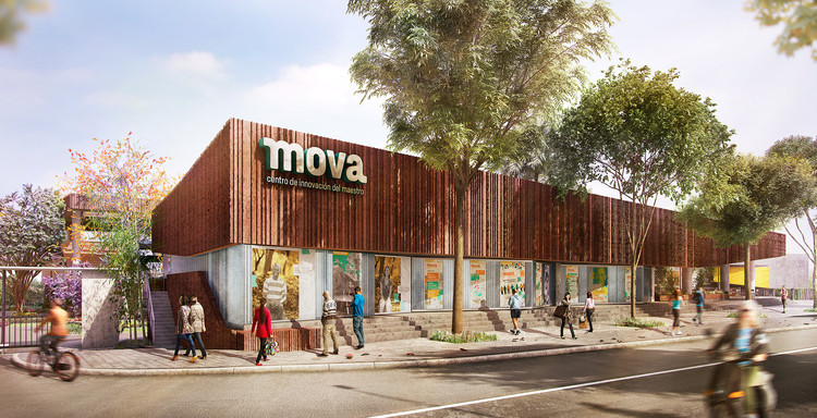 Avanza construcción de MOVA en Medellín, un espacio para innovar en la formación de docentes, Cortesía de OPUS_Oficina de Proyectos Urbanos