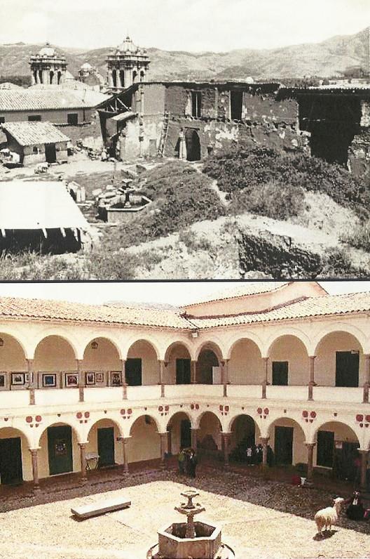 Restauración de la Casa del Palacio del Almirante en Cusco. Image Cortesía de Archivo Victor Pimentel