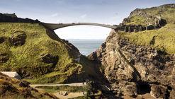 Shortlisted Concept Designs Revealed for the Tintagel Castle Footbridge