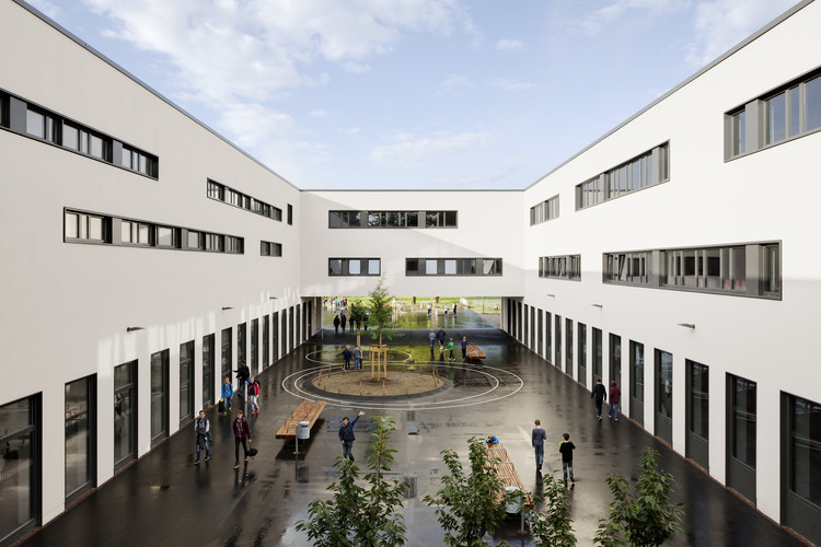 Martin Luther School at Rimbach / GMP, Courtesy of GMP