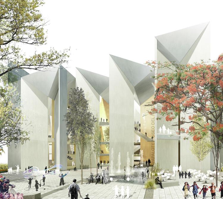 México: Propuesta ganadora para Papalote Museo del Niño Iztapalapa, por MX_SI  + SPRB Arquitectos, Cortesía de MX_SI + SPRB Arquitectos
