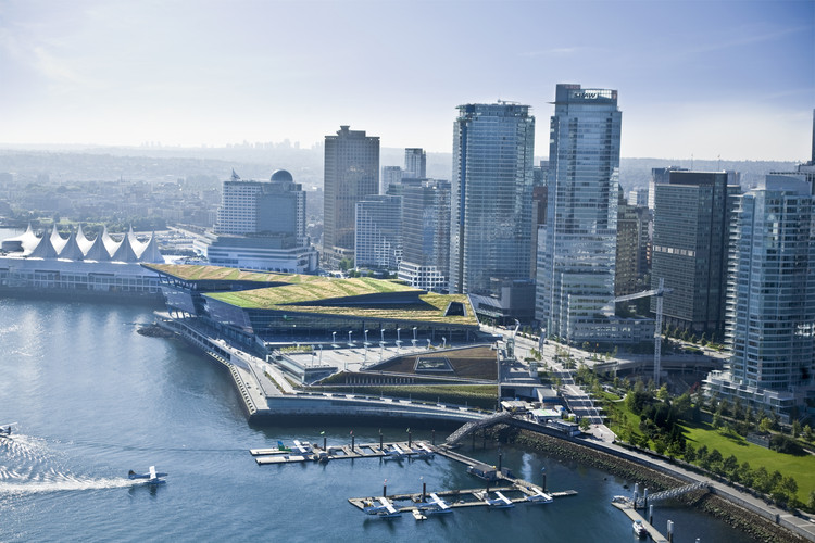LMN Architects Win 2016 AIA Architecture Firm Award, Vancouver Convention Centre West. Image © LMN Architects