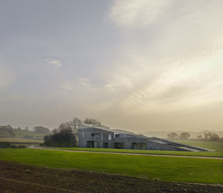 Skene Catling De La Pena's Rothschild Project Named UK's Best New House, © James Morris