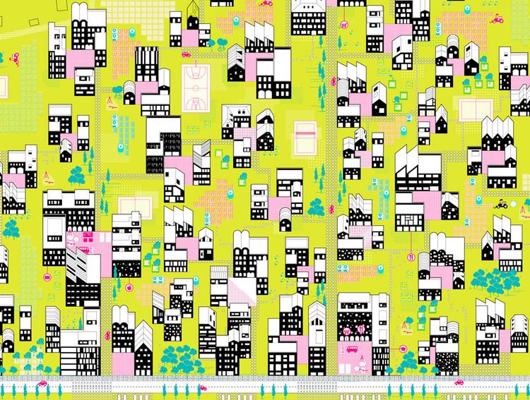 51 proyectos con arquitectos españoles entre los ganadores del EUROPAN 13, Propuesta 'Twin Phenomena' de ArenasBasabePalacios, uno de los ganadores del Europan 12. Image Cortesía de ArenasBasabePalacios