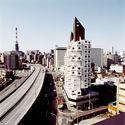 Kisho Kurokawa's Nakagin Capsule Tower. Image © Arcspace