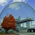 Buckminster Fuller's Montreal Biosphere. Image © Flickr user Rodrigo Maia