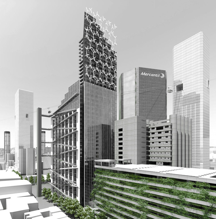 Urban Think Tank's vision to transform the incomplete Torre David in Caracas