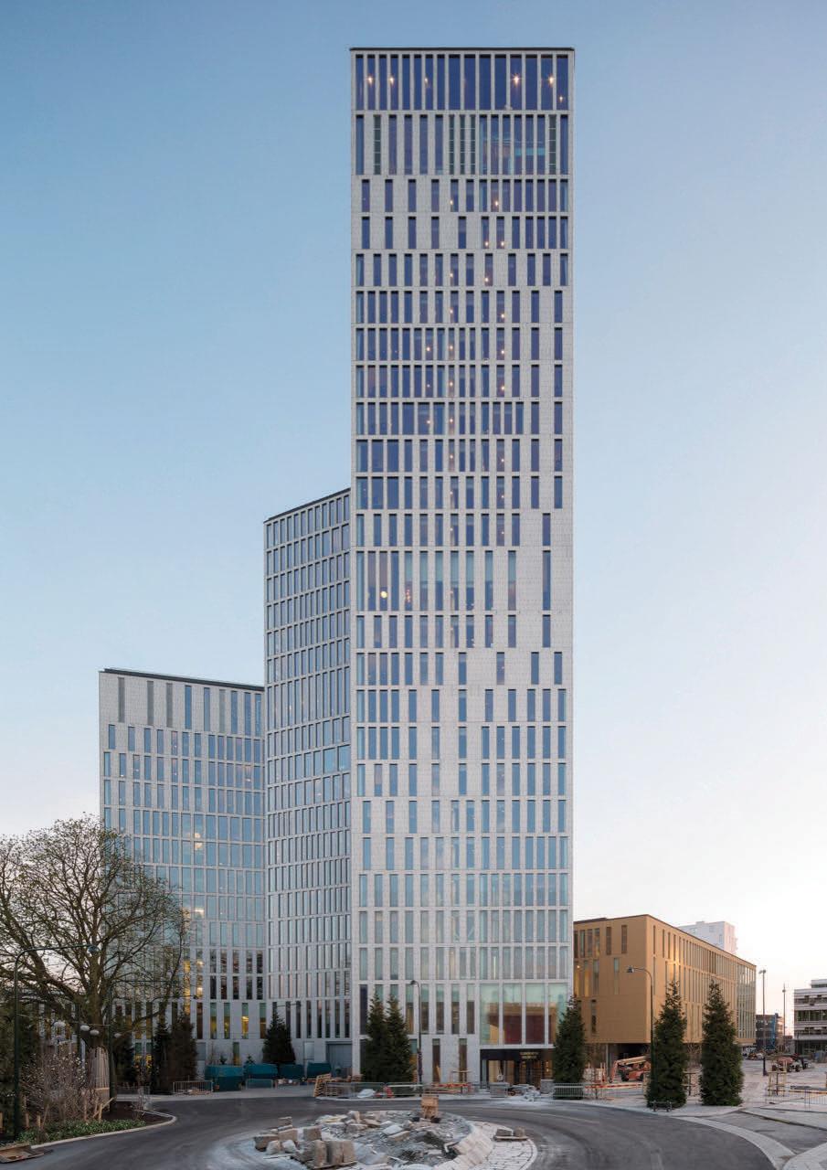 Malm live schmidt hammer lassen architects archdaily - Architecture moderne residentielle schmidt lepper ...