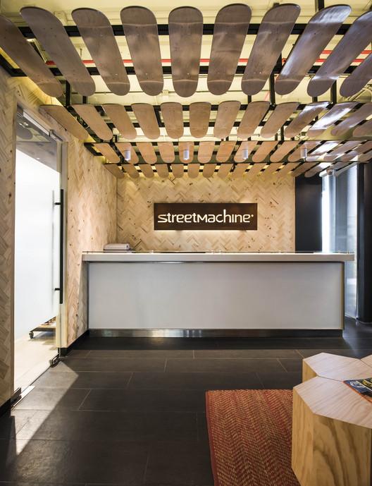 Oficinas Street Machine  / GEA Arquitectos + Anita Puig, © María José Pedraza