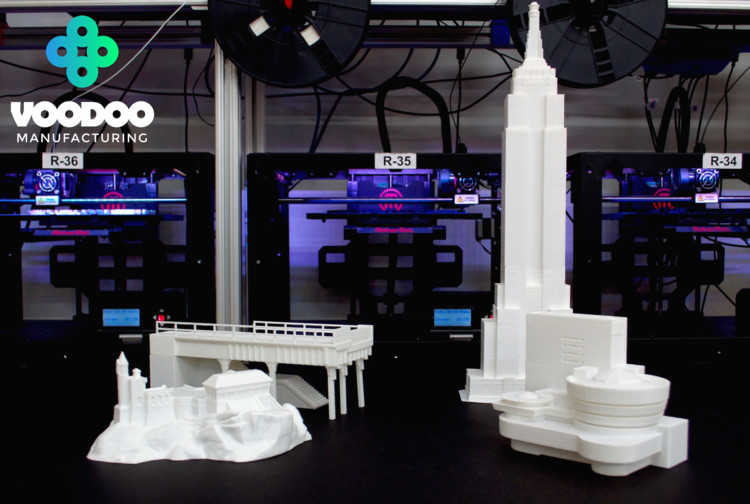 Help Voodoo Manufacturing Build a Massive 3D Printed City