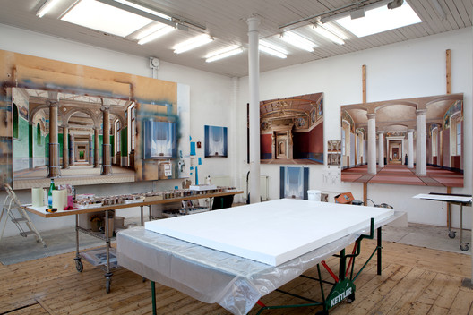 Ben Johnson's London studio. Image © Ben Johnson