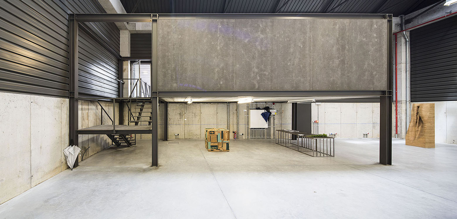 Building An Office Inside A Warehouse