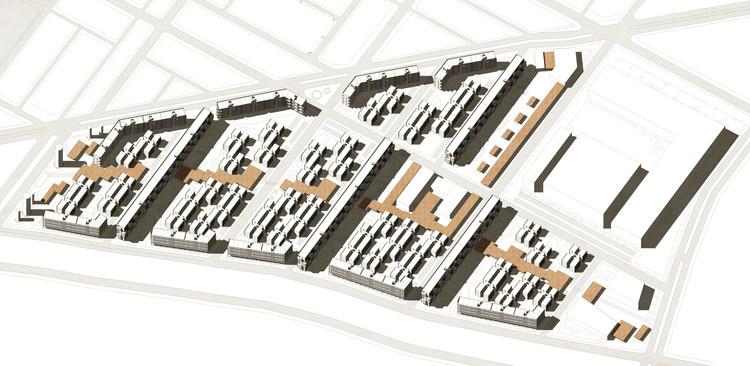 Primer lugar universitario en nuevo plan maestro urbano habitacional en Alto Hospicio, Cortesía de Equipo Primer Lugar