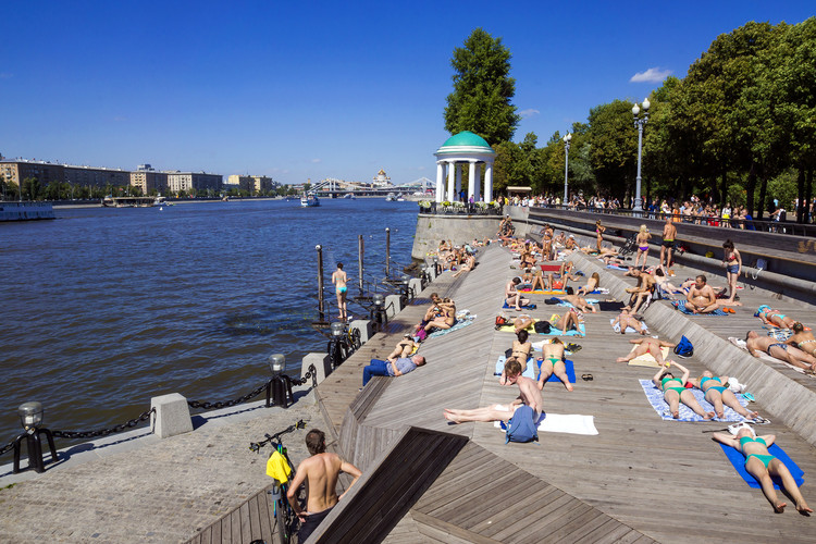 Moscow's Urban Movement: Is There Hope for a Better Future?, Gorky Park. Image © dimbar76 via Shutterstock