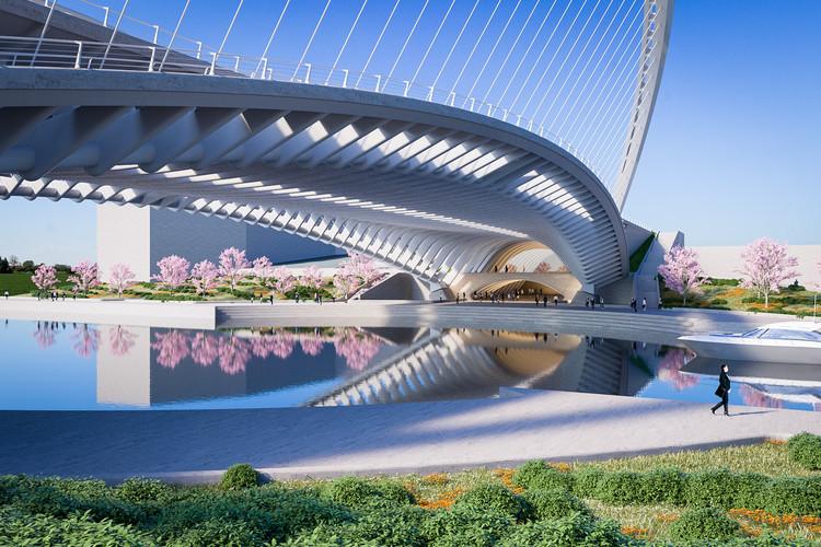 Puente Licong. Imagen © Santiago Calatrava LLC