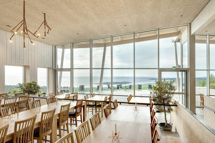 Hemsö restaurant sweco architects archdaily