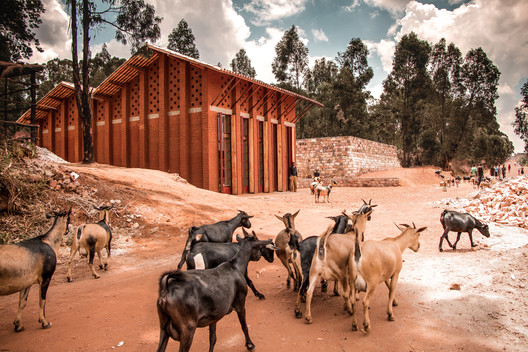 Library of Muyinga / BC Architects. Image © BC Architects and Studies