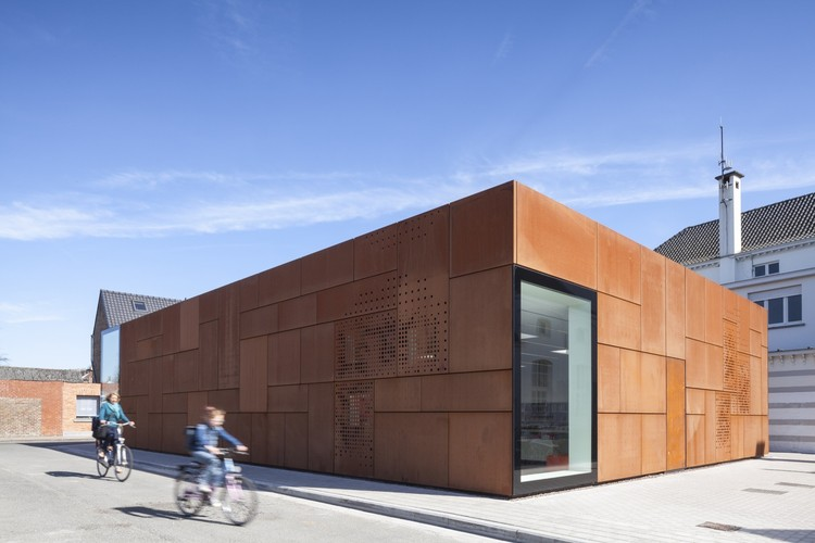 Biblioteca de la Ciudad de Brujas / Studio Farris Architects. Image © Tim Van de Velde