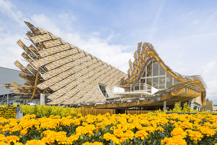 Pabellón de China - Expo Milán 2015 / Universidad de Tsinghua + Studio Link-Arc. Image © Sergio Grazia