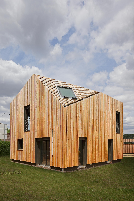 Gallery of ecole des bartelottes la ville du bois for Architecture nomade
