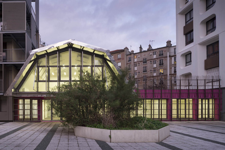 Centro Comunitario de Saint-Blaise / Bruno Rollet Architect, © Nicolas Borel