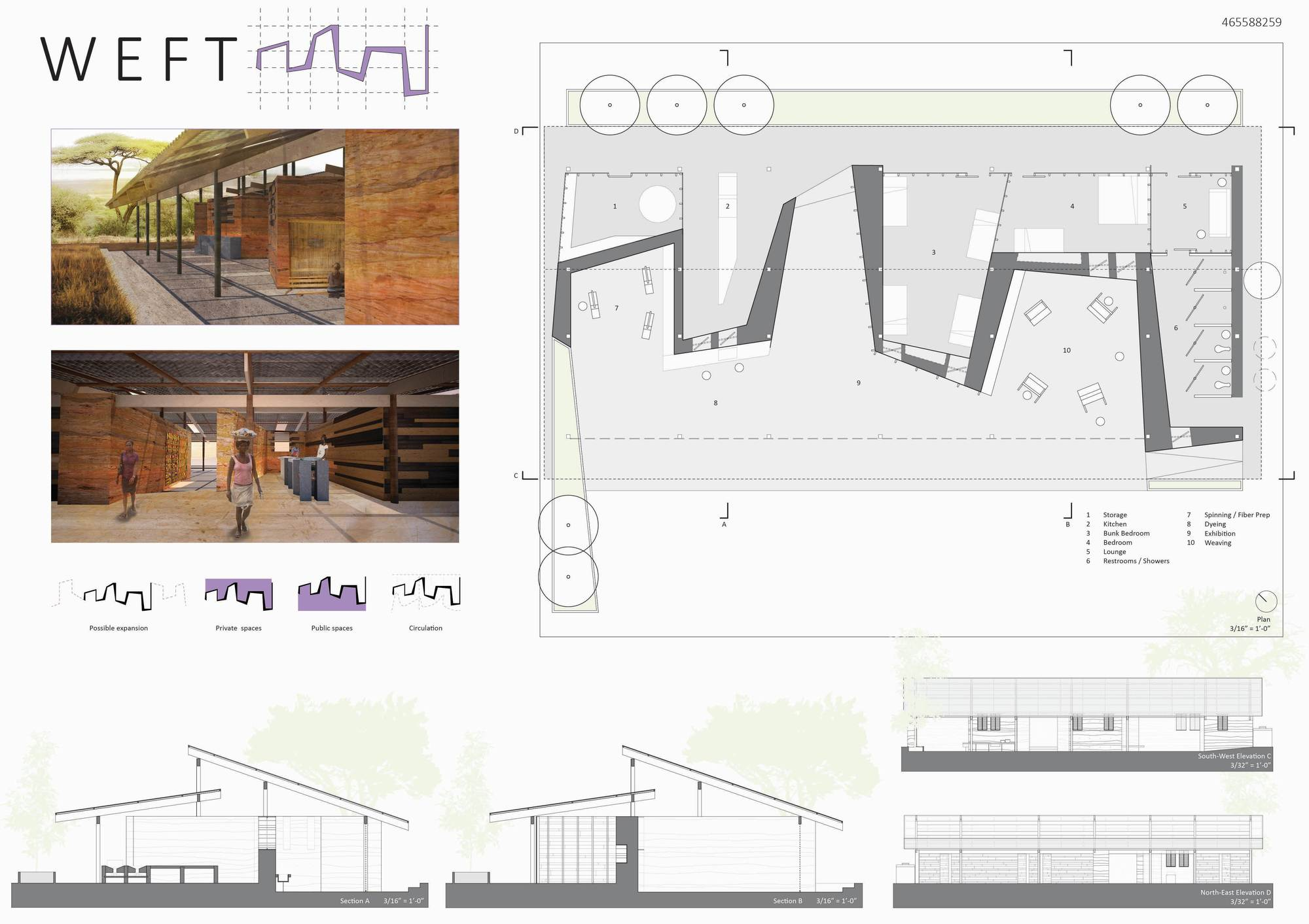 Gallery of nka foundation announces winners of designing for the arts housing competition in Home architecture competition