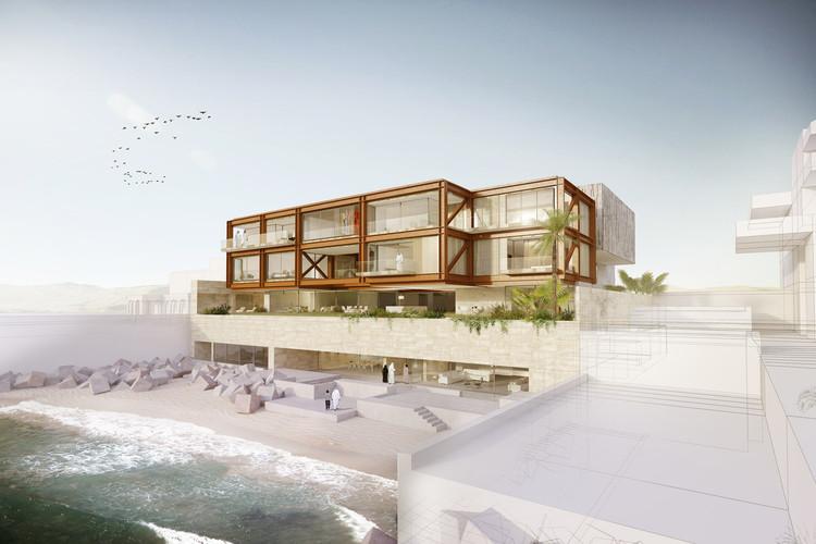 AGi architects, galardonado con tres premios y una mención honrosa en los Middle East Architect Award, Scenic House. Image Cortesía de AGi Architects