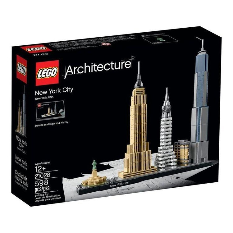 New York City. Image © LEGO®