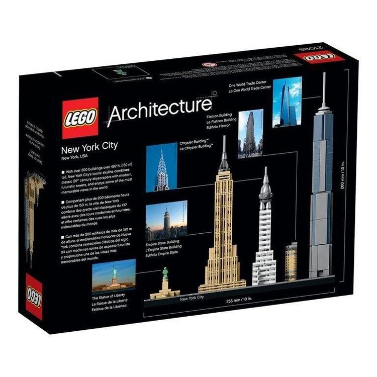 New York City. Imagen © LEGO®