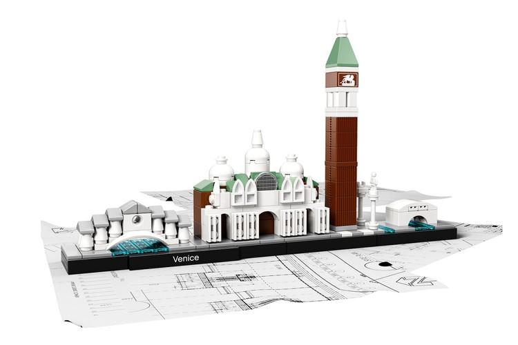Venecia . Imagen © LEGO®