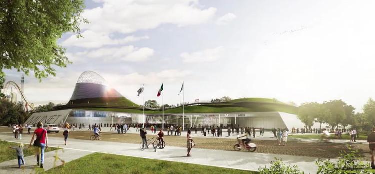 TEN Arquitectos diseña proyecto para el Museo Nacional de Energía y Tecnología en México, MUNET, TEN Arquitectos. Image vía Gobierno de la República Mexicana