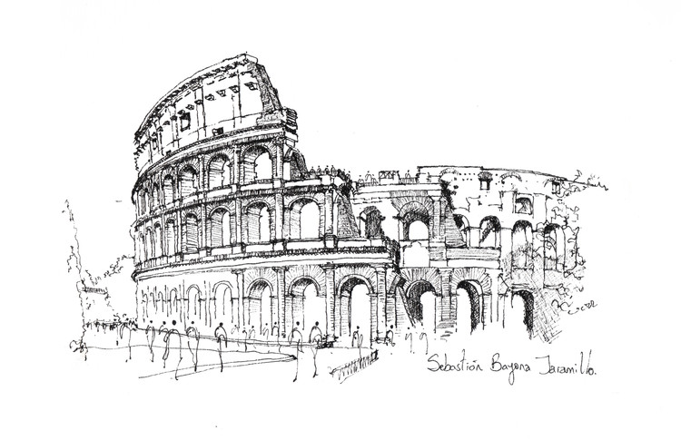 Colosseum / Rome. Image © Sebastián Bayona Jaramillo
