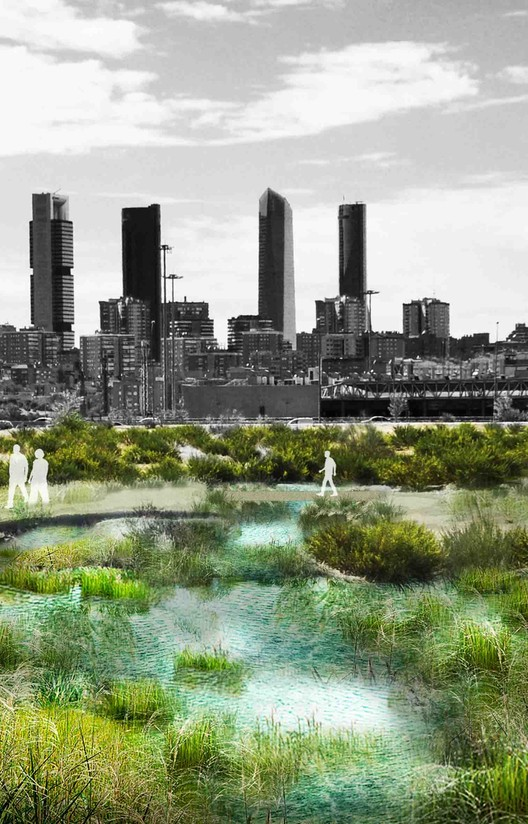 Arup Releases Report Envisioning a Greener Madrid, Courtesy of Arup