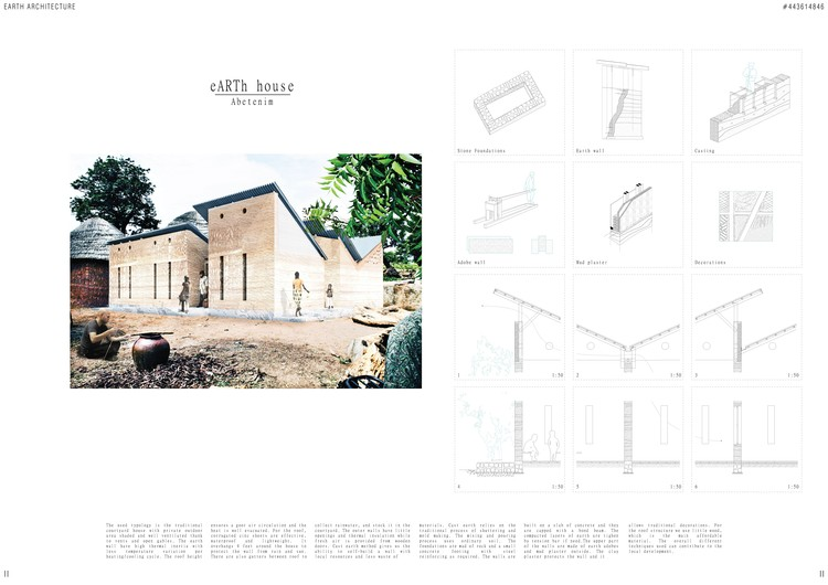 Segundo Lugar: eARThouse / Lorenzo Conti, Italy. Image Courtesy of NKA Foundation